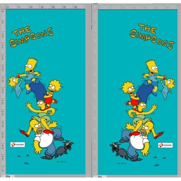 Simpsons Sideart Set 1
