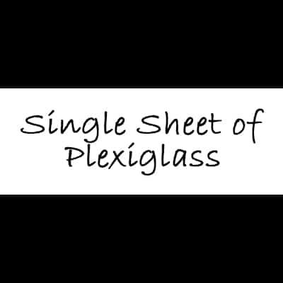 Single sheet of