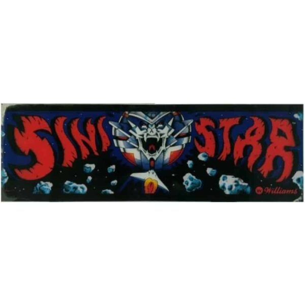 Sinistar Marquee