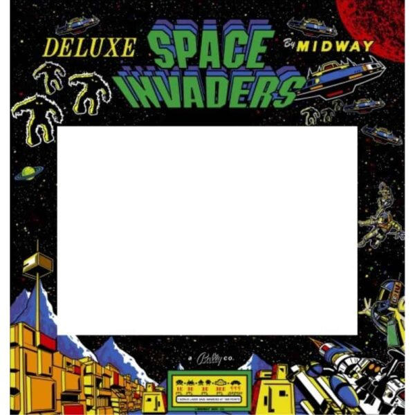 Space Invaders Deluxe bezel 1
