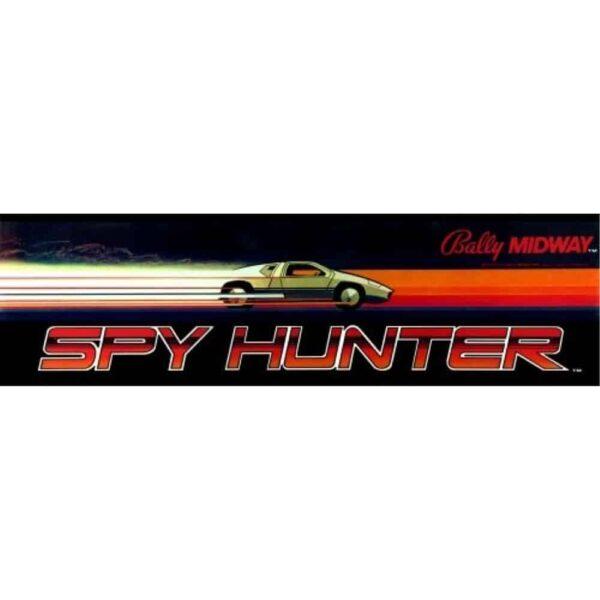 Spy hunter car cockpit marquee