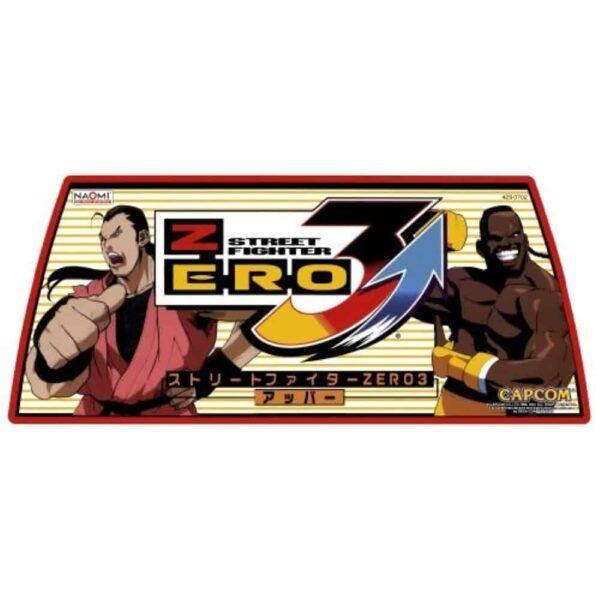 Street Fighter 3 zero marquee