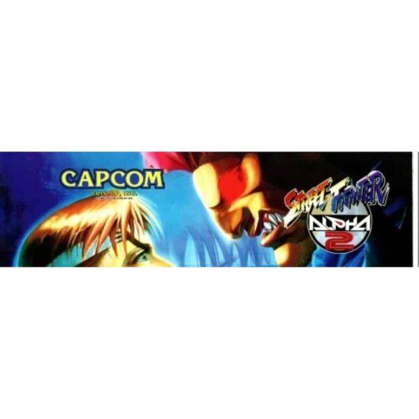 Street Fighter Alpha 2 marquee
