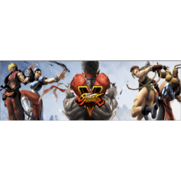 Street Fighter V Marquee