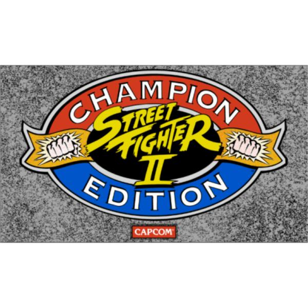 Street fighter 2 champion Edition Marquee Dynamo big blue edition