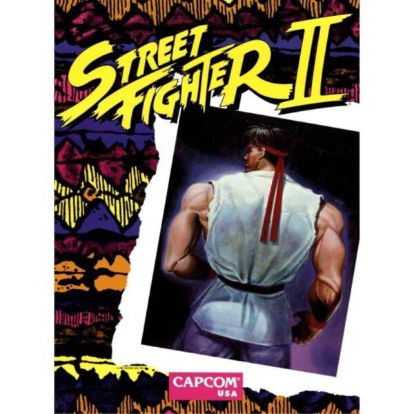 Street fighter II sideart 1