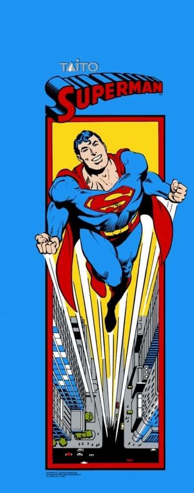 Superman full sideart 1