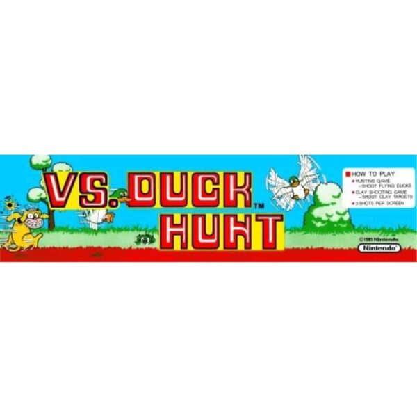 Vs. Duck Hunt Marquee