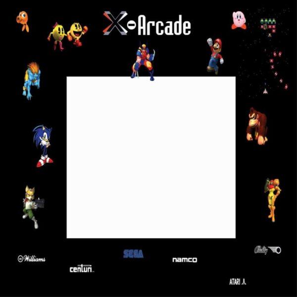 X Arcade bezel