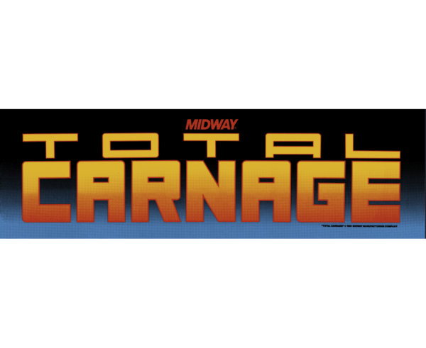 midway Total Carnage marquee