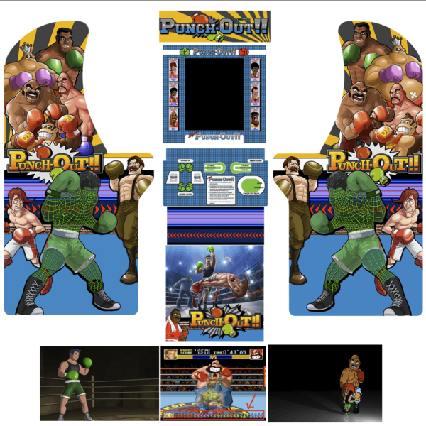 punchout arcade 1up
