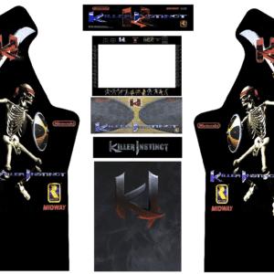 Killer Instinct 3/4 Micro Center Arcade Kit