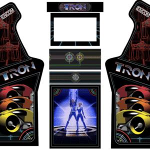 Tron Encom Micro Center Arcade graphics