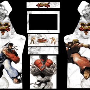 Street Fighter 5 3/4 Micro Center Arcade graphics