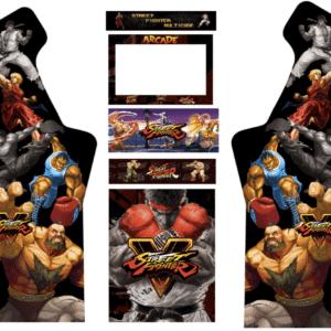 Street Fighter Generations 3/4 Micro Center Arcade graphics