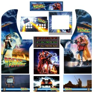 Back To The Future Arcade1Up Arcade Kit